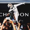 GP Ungheria, Vince Lewis Hamilton, Secondo Nico Rosberg. Ferrari con Vettel Quarta, ma Sempre Dietro