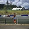 "Belen Rodriguez ""Follia Totale"" al GP di Iannone"