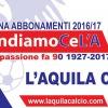 L'Aquila Calcio da Oggi Si Comprano gli Abbonamenti, ma lo Slogan Non Piace