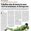 """Bufera Su Buffon: """"In Italia Vinciamo Perchè Si Scansano"""", la Società Smentisce, ma..."""