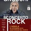 """Solidarietà divertimento e moda a L'Aquila con """"Sconcerto Rock"""" di Gene Gnocchi"""