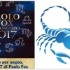 SCORPIONE - Oroscopo 2017 Paolo Fox