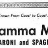 """I veri Re della Pasta in America erano abruzzesi, Con il Marchio """"Mamma Mia"""""""