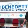 Ballottaggio L'Aquila, al via la campagna del candidato sindaco Americo Di Benedetto