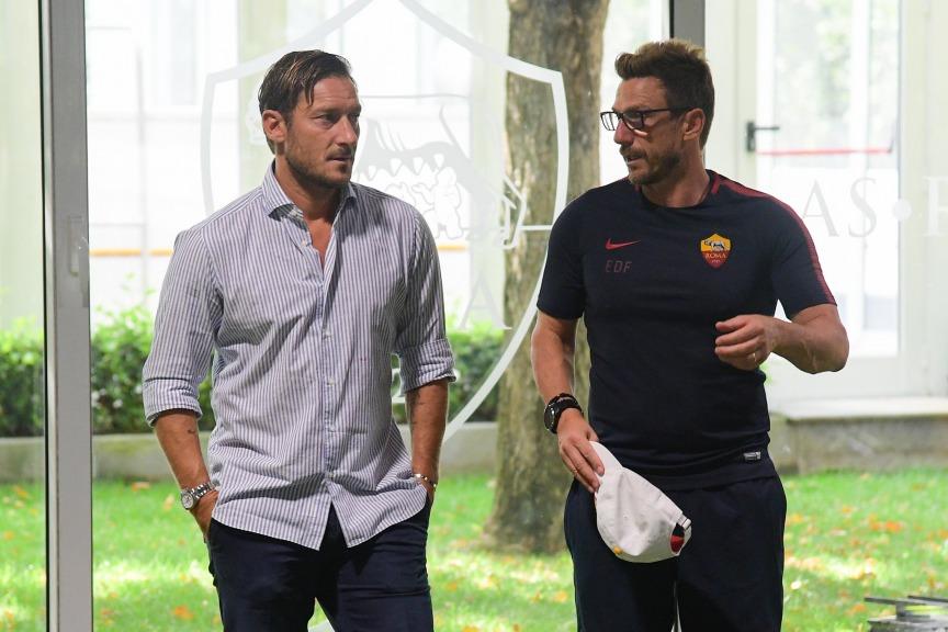 Roma, Pallotta promuove Totti