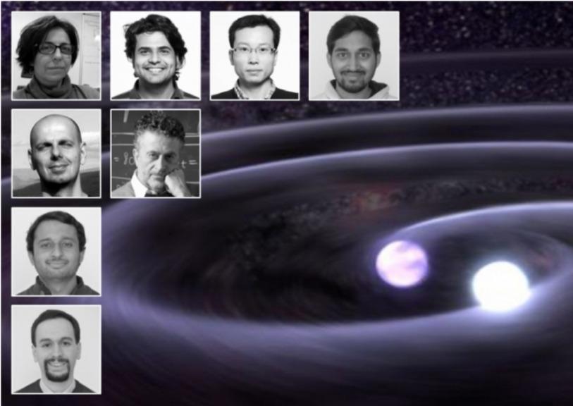 Cascina (Fi): striscione festeggia premio Nobel per la fisica