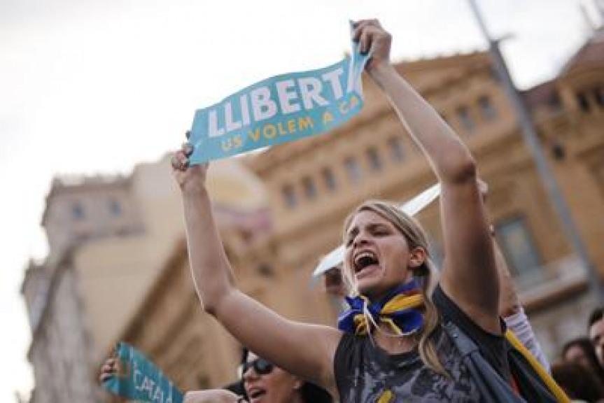 Barcellona, Mossos continuano a lavorare