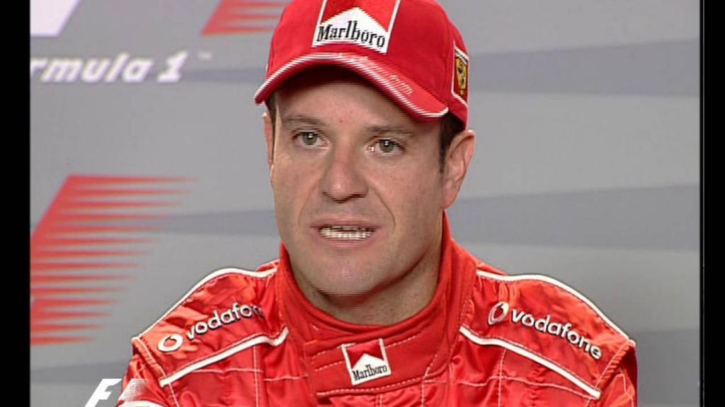 Problema vascolare per Barrichello: