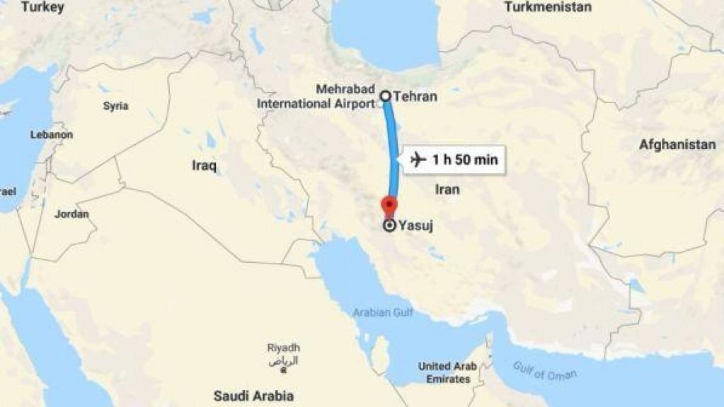 Iran: cade aereo con 66 persone a bordo, tutti morti