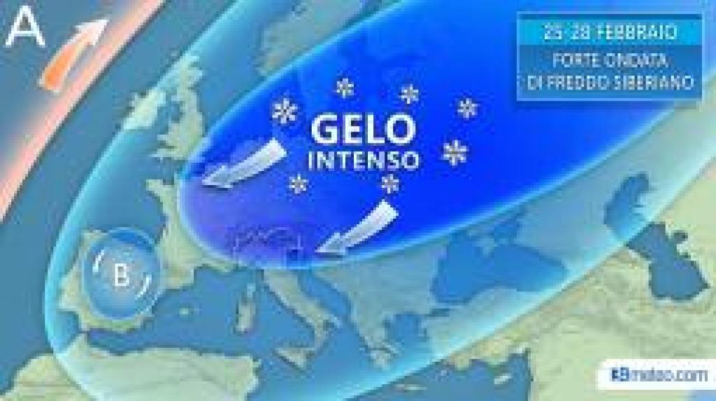 Maltempo sull'Italia. Da domenica eccezionale ondata di gelo