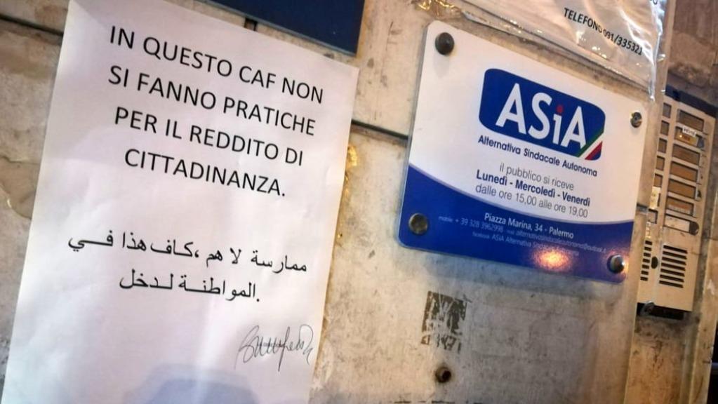 Reddito di cittadinanza, caos al Caf di Bari: