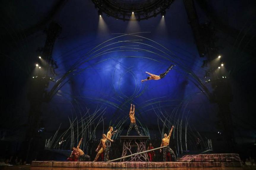 Acrobata del Cirque du Soleil muore dopo essere caduto durante un esercizio