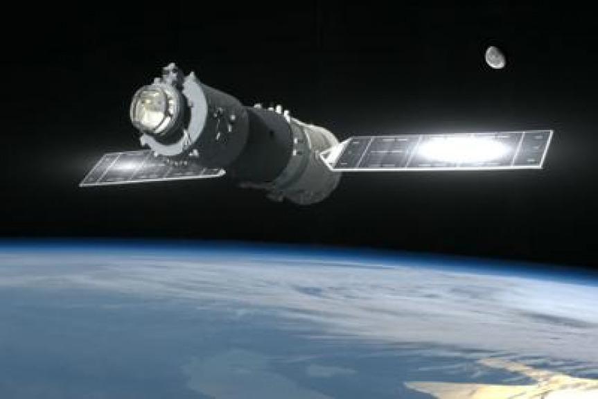 La Stazione Spaziale cinese Tiangong 1 potrebbe schiantarsi sull'Italia nel periodo Pasqua