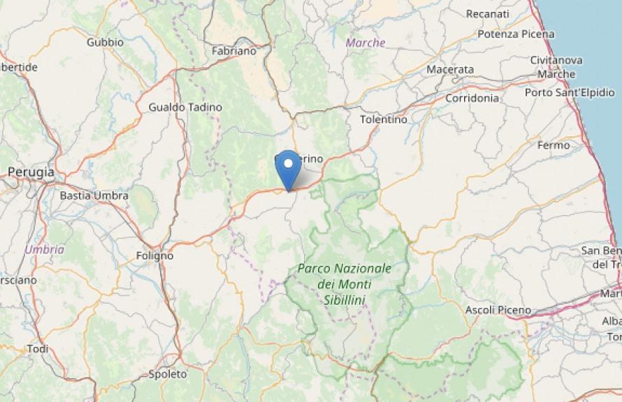 Terremoto magnitudo 4.7 nel Maceratese