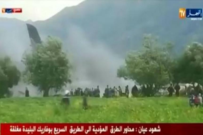 Si schianta aereo in Algeria: 200 a bordo