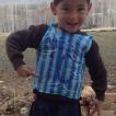 Il piccolo fan di Messi