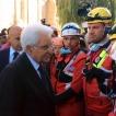 """#Terremoto, Mattarella Arriva ad Amatrice, ai Soccorritori: """"Grazie per Quello che Fate"""""""