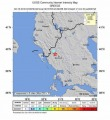 Sciame sismico nella notte ha colpito la Grecia, la scossa maggiore magnitudo 5.2