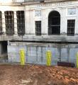 Ricostruzione Emiciclo, a Giorni la riscoperta della facciata Ex Gil