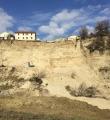 Frana Campli, sopralluogo tecnici Geologo P.Civile, possibilità di rallentare crollo