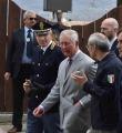 Il principe Carlo in visita ad Amatrice
