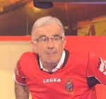 Gene Gnocchi con la maglia della Virtus