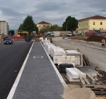 Lavori in viale Corrado IV