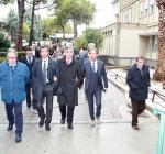 visita D'Alfonso ospedale Giulianova