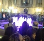 La fontana luminosa di piazza Valignani