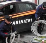 Carabinieri- Furto rame