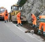 Lavori ripristino stradale