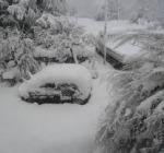 Oltre mezzo metro di neve nel Chietino A Orsogna e Miglianico alcune zone senza energia elettrica