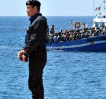 foto da twitter Frontex