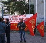 Veco di Martinsicuro, stop produttivo forzato
