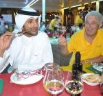 Gli Arabi Comprano Arrosticini all'Expo. Grande Successo Abruzzese