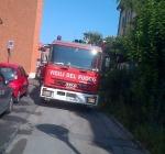 Incendio in una palazzina di Pescara. Condomini terrorizzati