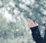Nevicate a quota 800 metri in Abruzzo
