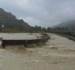 Esondazione fiume Treste-foto ansa