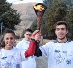 Campionati mondiali studenteschi di Sci, la festa della Torch-run ha fatto tappa ad Avezzano