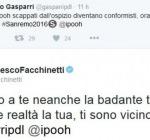 Gasparri Contro i Pooh a Sanremo e Francesco Facchinetti lo Asfalta