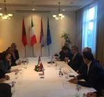 Macroregione focus Ancona-Pescara-Bari Presidente Abruzzo nei Balcani Centrali Tirana-Dubrovnik