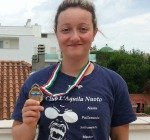 Europei Master di Nuoto, l'aquilana Simona Corrado è medaglia di bronzo