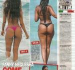 Fanny Neguesha Dopo Balotelli Mette su Qualche Chilo. Curve Morbide? FOTO