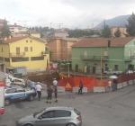 ATTENZIONE - Crollata la Strada all'Incrocio Fra Via Aldo Moro e Via San Sisto. Sul Posto i VVF