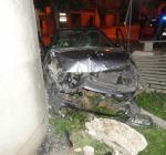 20enne con auto a pochi metri binari a Torre de' Passeri, illeso