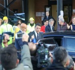 """Il presidente Renzi visita le zone Terremotate: """"il nostro Paese è al Vostro fianco"""""""