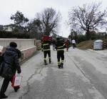 Mega frana a Civitella del Tronto evacuate 33 case, la frazione di Ponzano sta scivolando via