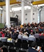 Concerti in Fabbrica, l'Istituzione Sinfonica Abruzzese porta le Note alla Walter Tosto