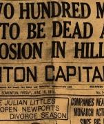 Il 19 giugno 1914 la tragedia mineraria di Hillcrest Mines, 189 vittime 9 erano abruzzesi