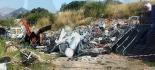 Nucleo ecologico dei carabinieri sequestra discarica a cielo aperto